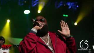 Rick Ross performing at Birthday Bash 17