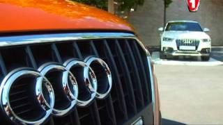 """Audi Q3 """"Перший тест"""" на Першому автомобільному"""