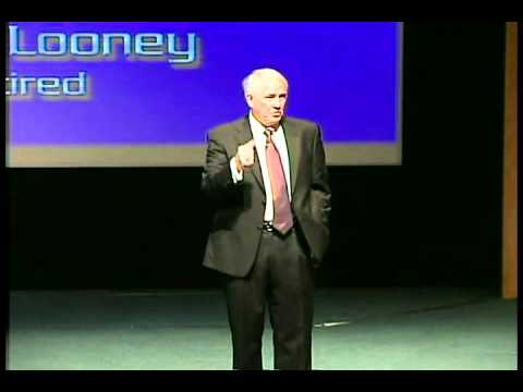 Gen Looney speaks at USAA on Exceeding Expectations
