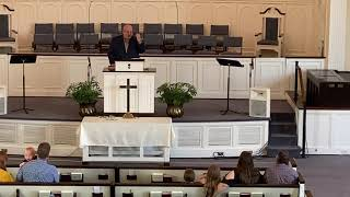 Sunday Sermon 6/7/2020 with Transitional Pastor Rex Adkins