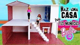 download musica Como hacer CASA de MUÑECAS Barbie RECICLANDO 1: BañoCocinaEscaleras MANUALIDADES con MUÑECAS