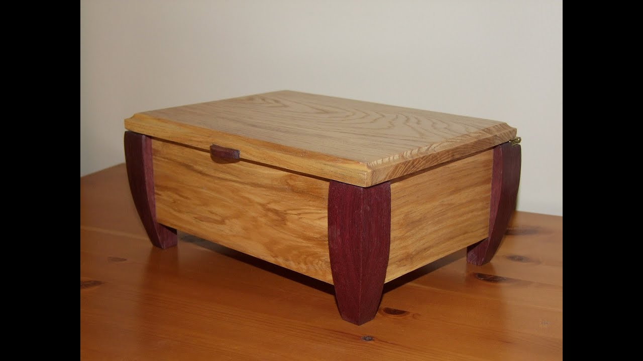 build wood jewelry box