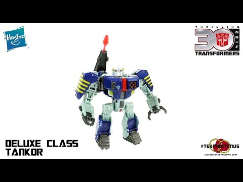 Video Review of the Transformers Generations: Deluxe Class Tankor