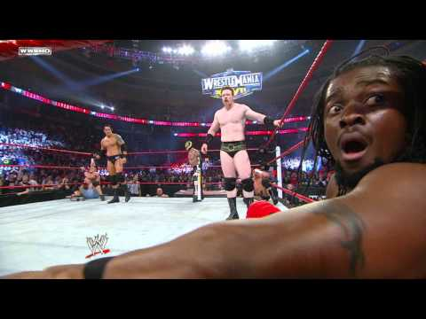 Diesel Returns To Wwe At Royal Rumble 2011 video