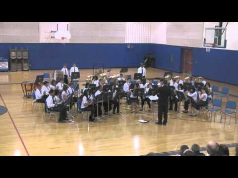 Patton Junior High School Advanced Band's Winter Concert 2012, Part 1