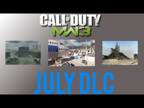 MW3 July DLC - Rust & Shipment Face Off Maps_ + Terminal Free Map!
