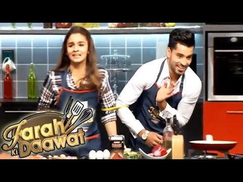 Gautam Gulati & Alia Bhatt Spotted On Farah Khan's New Show
