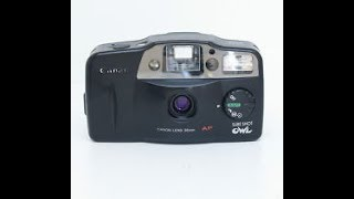 Canon Sure Shot Owl 35mm film camera review
