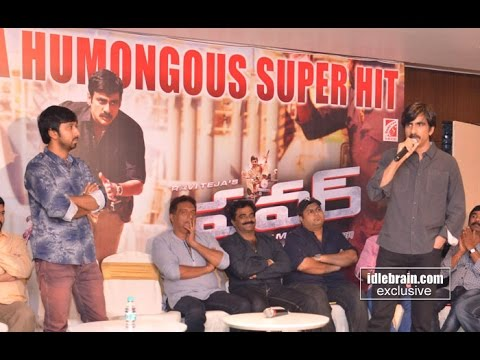 Ravi Teja Power success meet - idlebrain.com