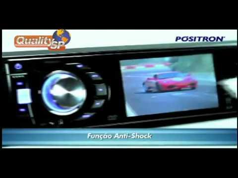 DVD Player Positron SP4120AV Tela 3 Polegadas com Entrada USB e Auxiliar Frontal
