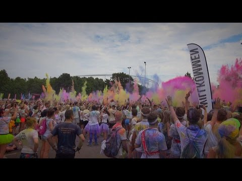 The Color Run Stuttgart 2015 - Afterparty