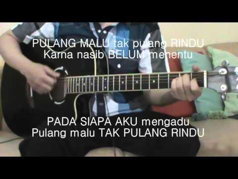 download lagu Armada - Pulang Malu Tak Pulang Rindu Akustik Gitar Karaoke gratis