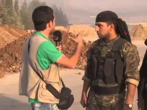 18+ not for shock! Syrian Kurdish Army fighting against Al-Nusra bandit thugs from Turkey 31-7-13