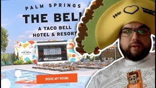 Booking my stay at the Taco Bell Resort!