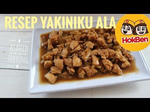 How To Make Chicken Yakiniku Hokben