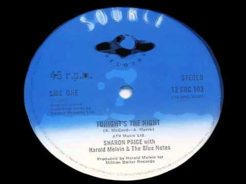 Sharon Paige - Tonight's The Night