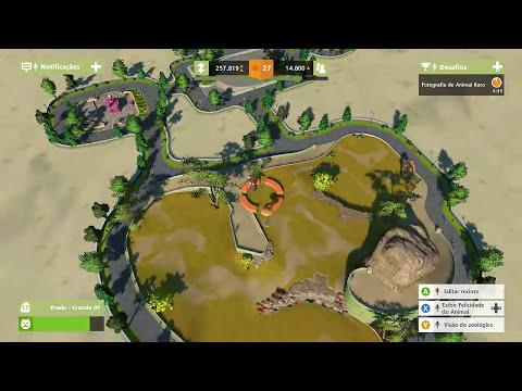 TARTARUGAS, IGUANAS E ANTÍLOPE ÓRIX : Zoo Tycoon #8 (Mega Zoológico)