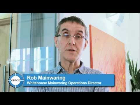 Opace Testimonial by Rob Mainwaring, Whitehouse Mainwaring
