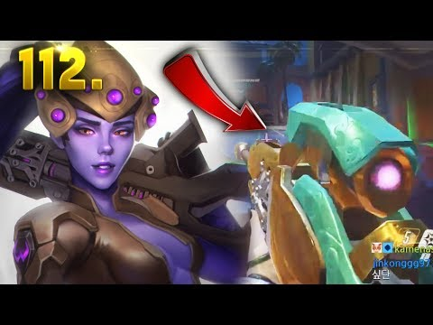 Korean Widow is Insane!! | OVERWATCH Daily Moments Ep. 112 (Funny and Random Moments)