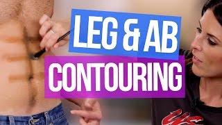 How To Contour Legs & Abs FAIL (Beauty Break)