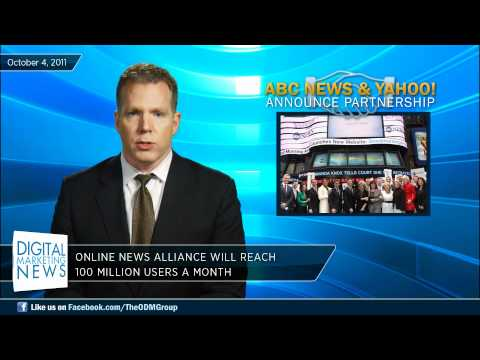 Digital Marketing News #145 -- ABC News Partners with Yahoo, Occupy Wall Street on Social Media
