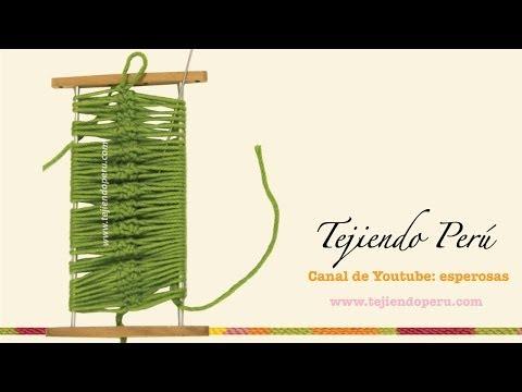 Horquilla o hairpin lace: cómo tejen en la técnica básica