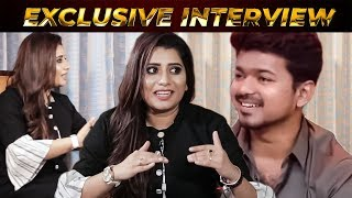 Thalapathy Vijay Interview with VJ Priyanka   Anchor Priyanka Exclusive Interview