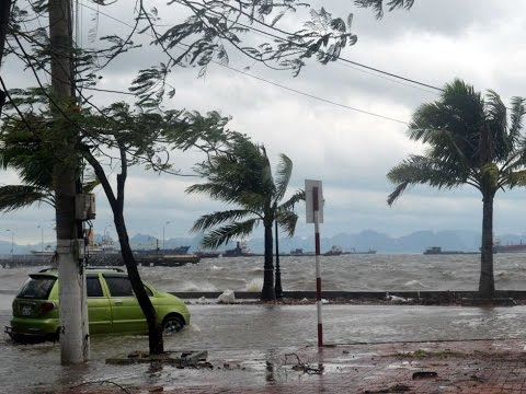 Strong Typhoon Lashes Northeast Philippines, 2 Dead
