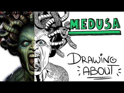 LA INCREÍBLE LEYENDA DE MEDUSA   Drawing About