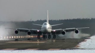 JAL 747 Memorial #005 : 747-246B [JA8162] at CTS/RJCC : Landing [鶴丸ジャンボ]