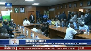 FG, Interpol MoU To Curb Terrorism, Kidnapping, Piracy 16/04/19 Pt.2 |News@10|