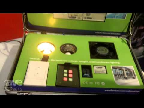 ISE 2015: Leviton Exhibits Omni-Bus Lighting Control Network