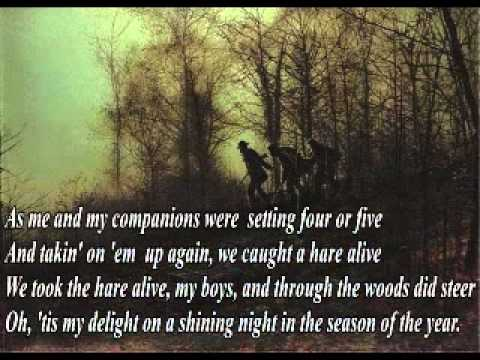 The Lincolnshire Poacher (Lyrics) - Trad.Arr.P.M.Adamson