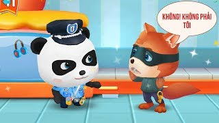 Hoạt Hình Vui Nhộn Cho Bé - Gấu Con Làm Cảnh Sát - Litle Panda Policeman