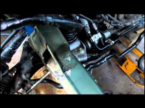 Subaru Outback 2011.  Ремонт переда