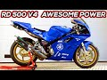 YAMAHA RD 500 V4 WITH AWESOME POWER & SOUND