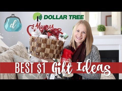 $1 DOLLAR TREE GIFT IDEAS (not tacky)! 🎄 Huge Haul & New Finds!