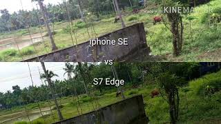 S7 Edge vs iphone SE Camera comparison