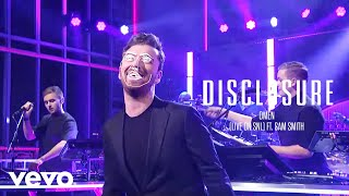 Download Lagu Disclosure - Omen (Live on SNL) ft. Sam Smith Gratis STAFABAND
