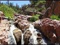 Hike To Waterwheel waterfalls NE of Payson, AZ - 070317