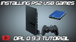 [How To] Install PS2 Games to USB for OPL 0.9.3 Simple Tutorial (2017)