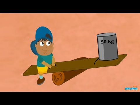 Simple Machines - What is a lever | Lessons for kids