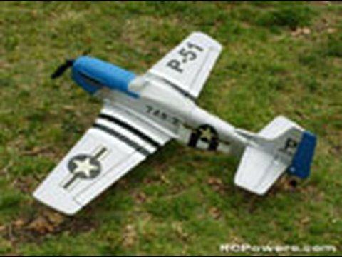 RC P-51 Mustang Review! (see sidebar)