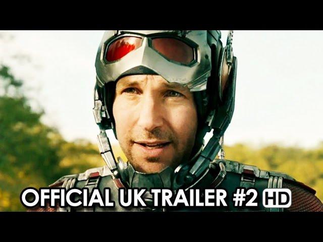 Ant-Man Official UK Trailer #2 (2015) - Paul Rudd, Michael Douglas HD