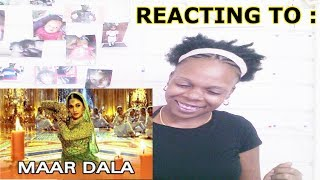 Maar Dala (Video Song) | Devdas | Shah Rukh Khan | Madhuri Dixit | REACTION