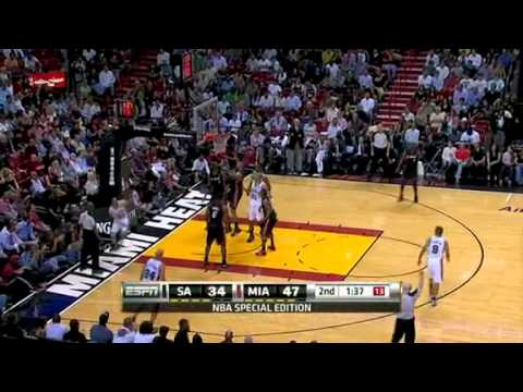 Miami Heat vs San Antonio Spurs (110 - 80) March 14, 2011