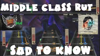 Middle Class Rut - Sad to Know - Guitar Hero Warriors of Rock DLC X+ Full Band (April 12th, 2011)