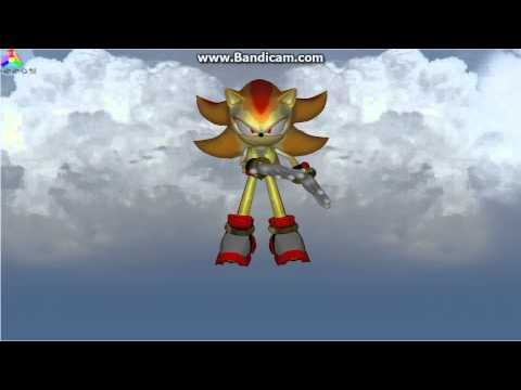 Super Shadow Idle animation test :Blitz Sonic Heroes Custom Character