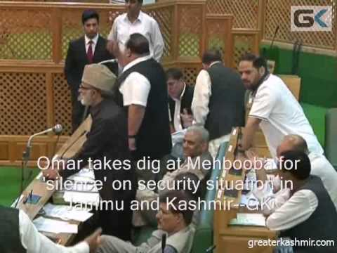 Omar Abdullah slams Mehbooba for 'silence' on security situation