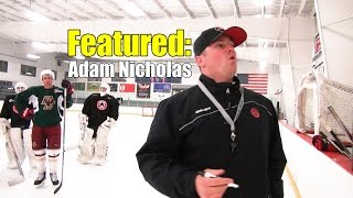 Pro Skills Coach Adam Nicholas Feature - Stride Envy Hockey